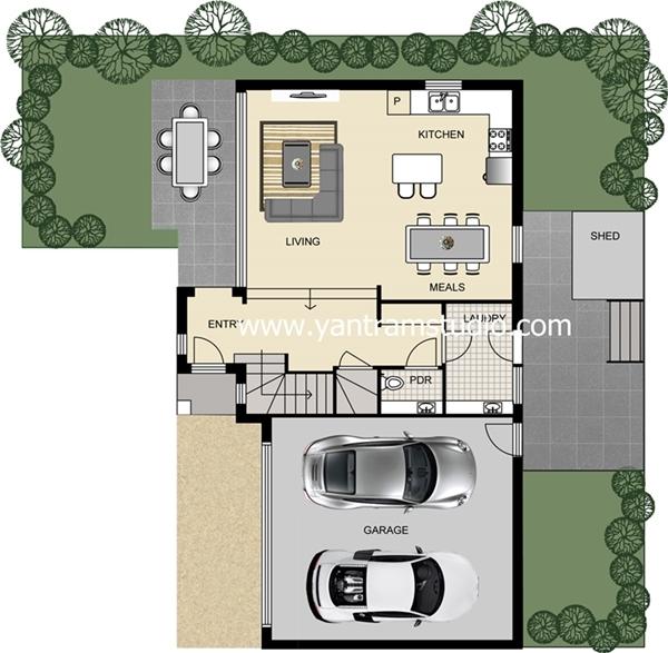 2d floor plan yantram studio 3d architectural for 3d floor plan app
