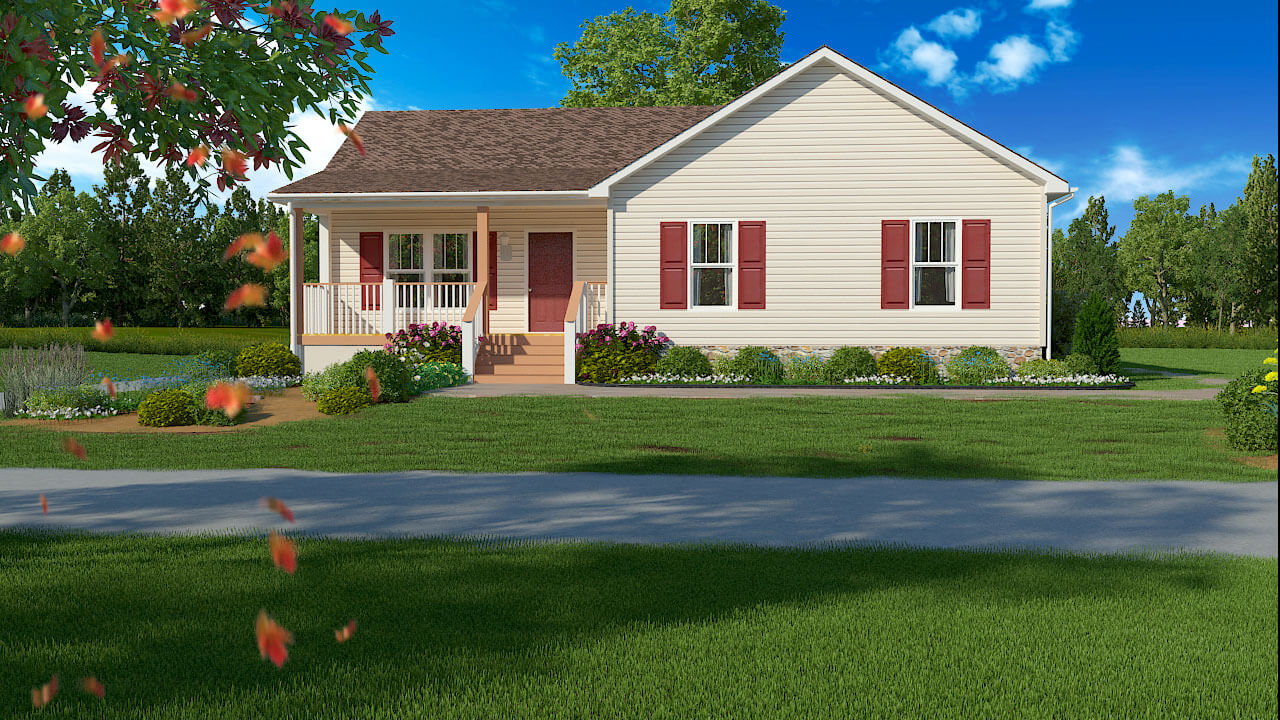 Photorealistic 3d exterior design rendering for 3d exterior design