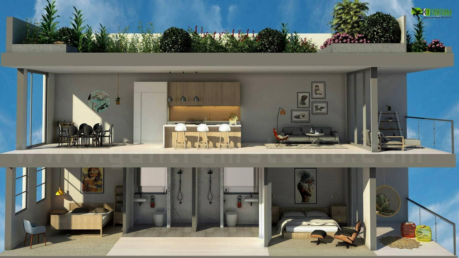 3d floor plans interactive 3d floor plans design studio interactive 3d floor plan by yantram studio 3d artist