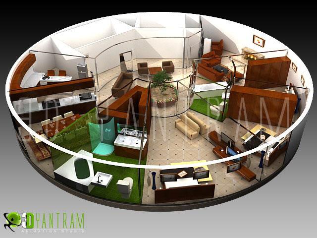 Commercial 3D Floor Plan