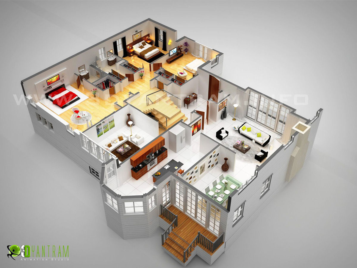 3d floor plan design interactive 3d floor plan yantram 3d planner