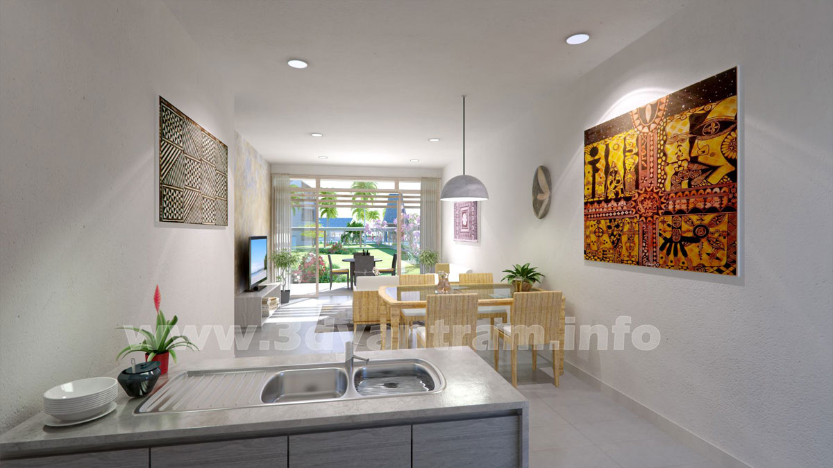 Interior 3d rendering photorealistic cgi design firms by for Architect studio 3d online room design