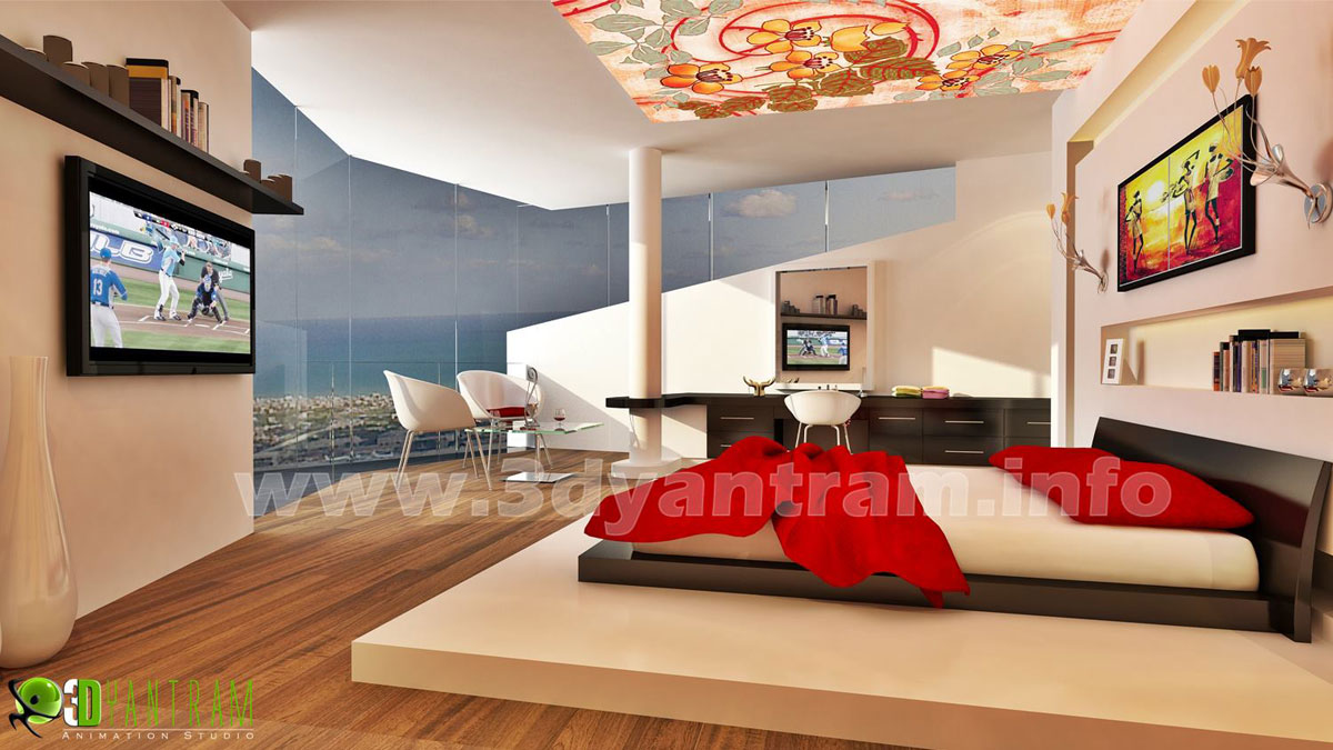 Interior 3d rendering photorealistic cgi design firms by 3d residential design software