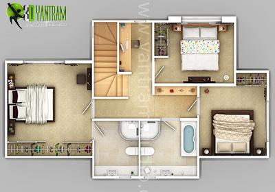 House Plan In 2D Model
