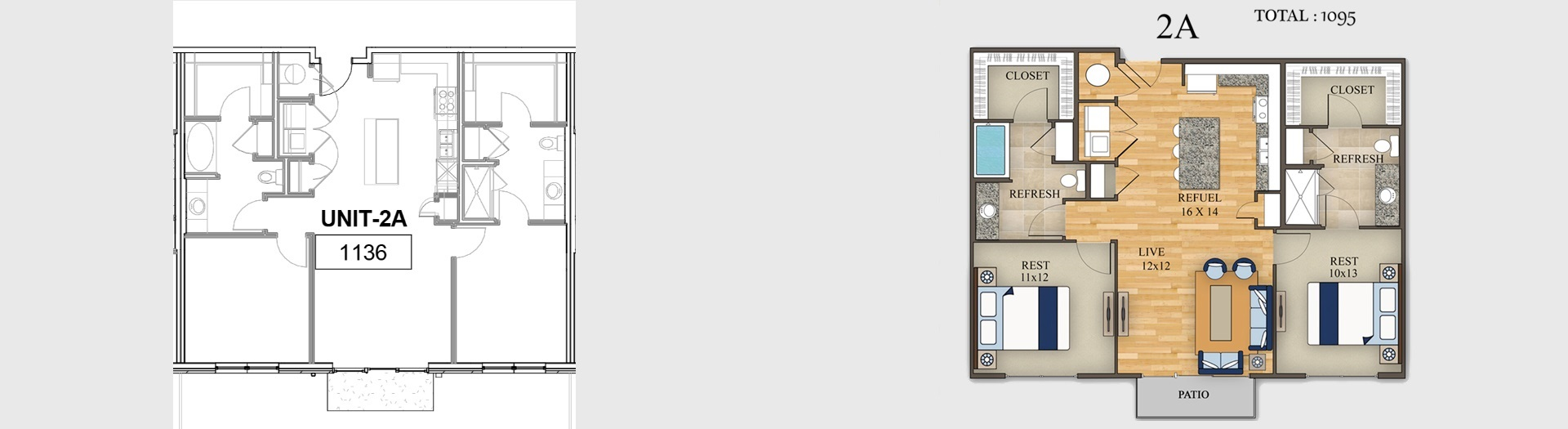 2d Floor Plan With Furniture With Site Plan 2d Landscaping