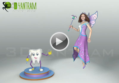 video productionof fairy character