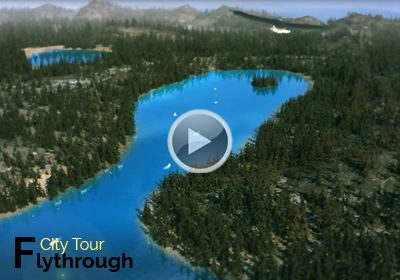 3D Virtual City Tour Flythrough Animation