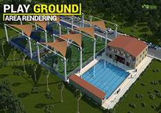 3D Exterior Design for Gaming Area