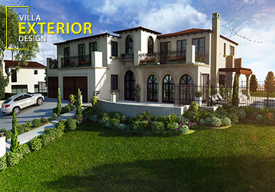 Get 3D Architectural Exterior Rendering, Modeling and CGI ... House Designs Exterior Night California Html on