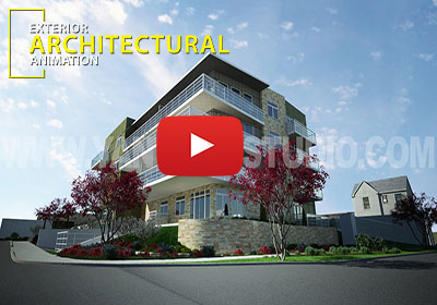 Architectural EXterior Virtual Walkthrough Animation