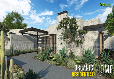Residential Home 3D Exterior Design