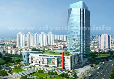 City View 3D Exterior Architectural