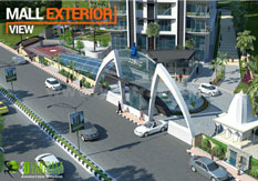 3D Exterior Architectural Landscaping Visualization