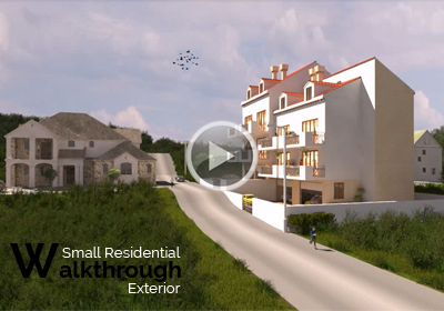 3D Virtual Walkthrough for Residential Apartment