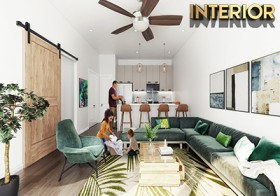 Interior Design Rendering