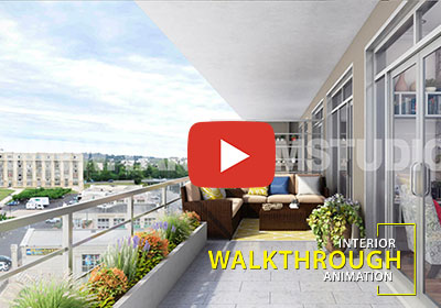 Architectural Interior Virtual Walkthrough Animation