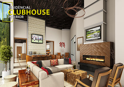 Community Club House Rendering