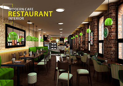 Contemporary Cafe & Restaurant Design Concept Ideas