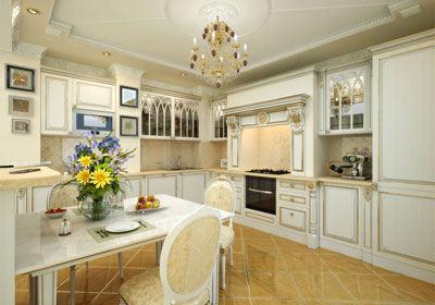 residential Classic kitchen design