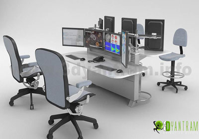 3D Product Modeling for Office Furniture Design