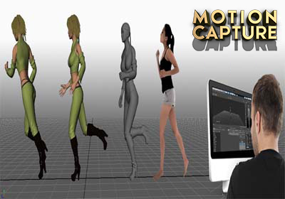 Real Time Motion Capture Animation