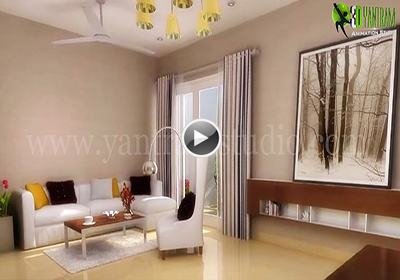 Interior Walkthrough For Residential Appartment